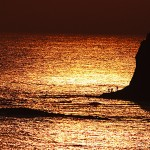 金色の入道岬