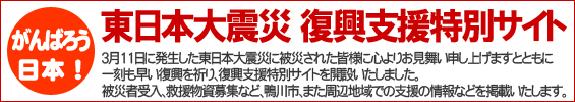 東日本大震災復興支援特別サイト / 鴨川ポータルサイト かもがわナビ(KamoNavi)